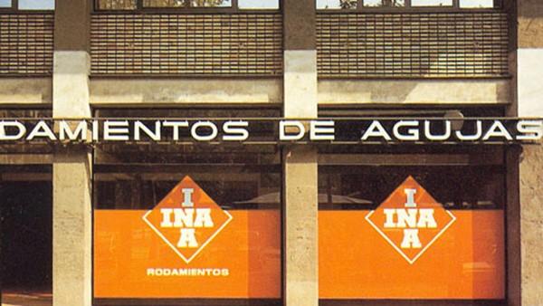 INA constitui oficialmente uma Delegação com o nome INA Rodamientos de Agujas, s.a. e com instalações no centro da Cidade de Barcelona.