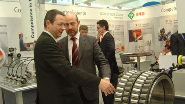 Schaeffler Iberia, s.l. inicia su estrategia en el sector MRO con la presencia en el Salón del Mantenimiento celebrado en Madrid.