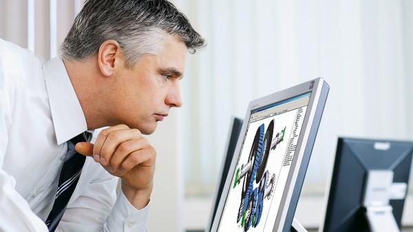 Schaeffler pone especial énfasis en la colaboración como partners, por ejemplo, en el cálculo y el diseño de los rodamientos.