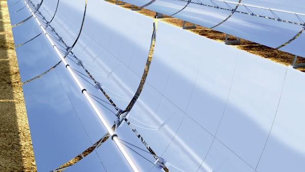 Centrais de energia de concentração solar térmica