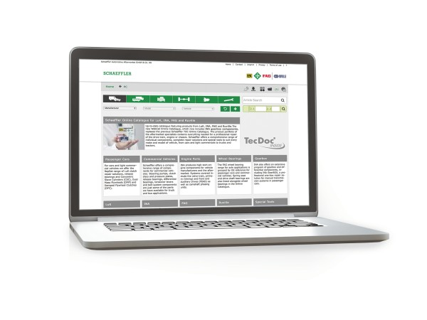 Schaeffler Automotive Aftermarket Catálogo online