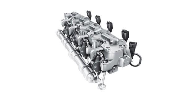 sistema de comando totalmente variável de válvulas eletro-hidráulico UniAir