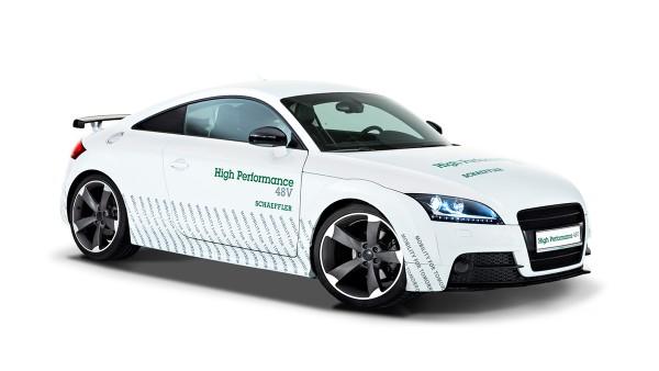 Carro-conceito Schaeffler High Performance 48 Volt