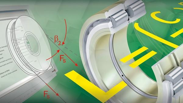 Módulo gratuito de cálculo para cálculo fiável de rolamentos para polias de cabo
