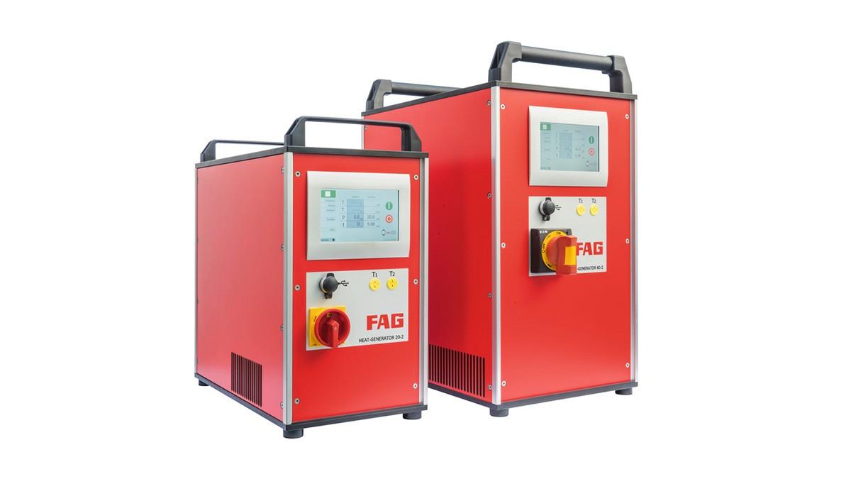 Productos de mantenimiento Schaeffler: Dispositivos de inducción con técnica de media frecuencia