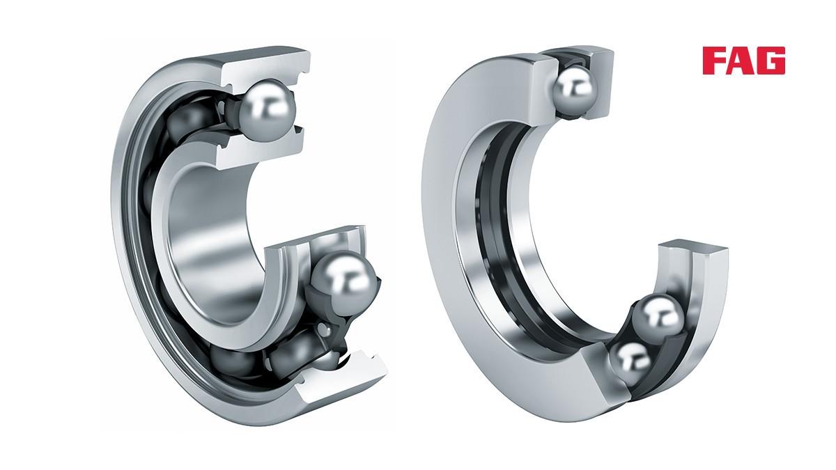 Rodamientos y casquillos de fricción Schaeffler: Rodamientos rígidos a bolas
