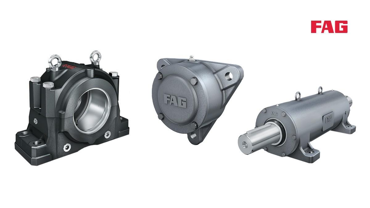 Rodamientos y casquillos de fricción Schaeffler: Soportes para rodamientos