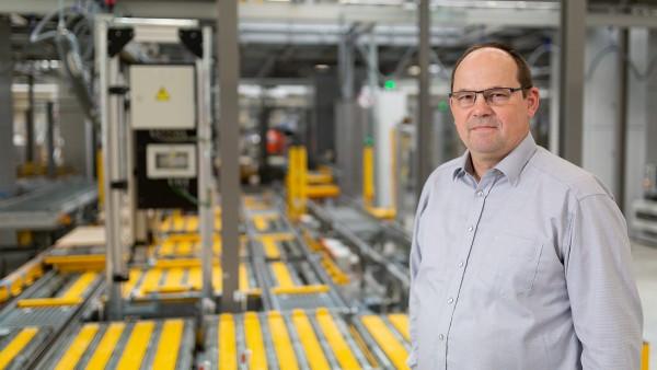 Egon Grief, Maintenance Manager at Schaeffler's European Distribution Center Central
