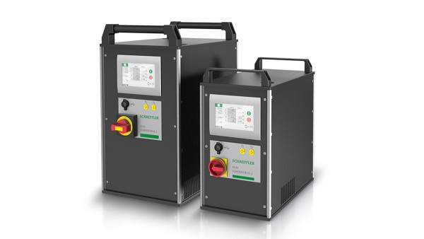Unidades de calentamiento por inducción con técnica de media frecuencia