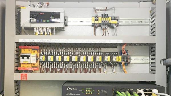 Diseño específico de los armarios de distribución