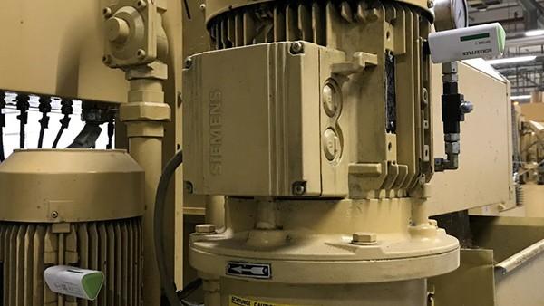 Monitorização dos motores das fresadoras