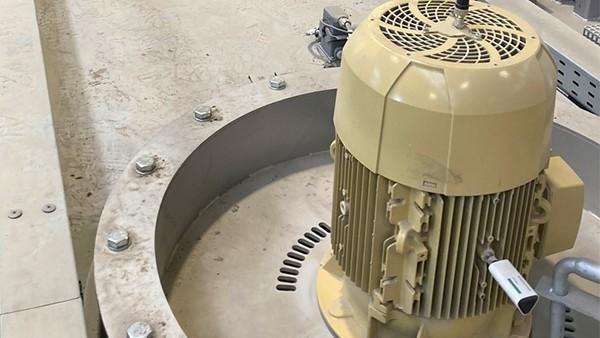 Monitorização dos motores das máquinas de tratamento térmico