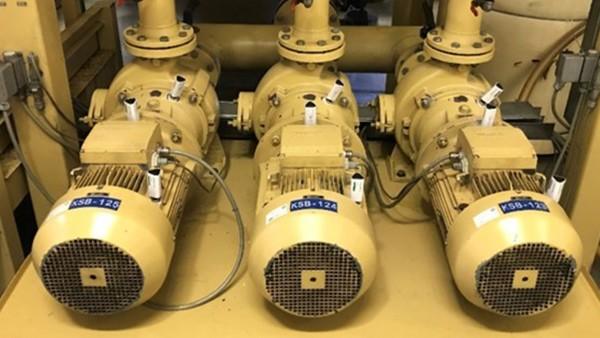 Monitorização dos motores dos sistemas centrais de fornecimento