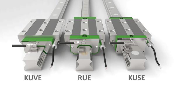 Sistema de sensores para un funcionamiento seguro de los sistemas de guiado lineal