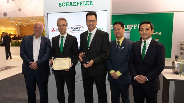 Schaeffler y Mitsubishi Electric anuncian una colaboración estratégica global