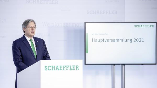 La Junta general anual de Schaeffler aprueba un dividendo de 25 céntimos de euro por cada acción ordinaria sin derecho a voto