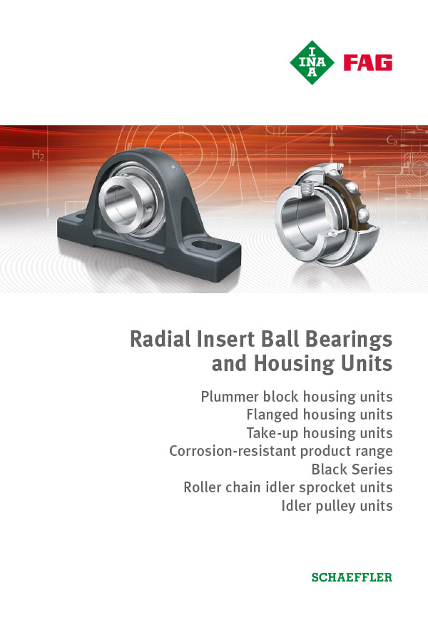 Radial Insert Ball Bearings and Housing Units