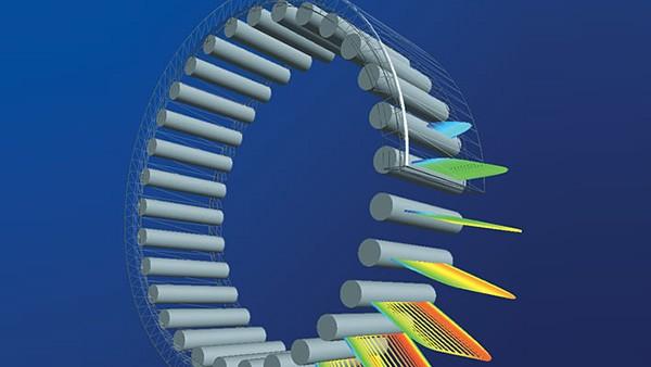 INA desenvolve o seu sistema de cálculo BEARINX® que permite obter cálculos exactos de aplicações para sistemas lineares, de rolamentos standard até ao cálculo do contacto dos elementos rolantes com as pistas de atrito.