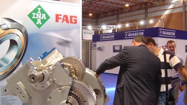 Primera participación de INA y FAG en la feria de energía eólica, PowerExpo, en Zaragoza.