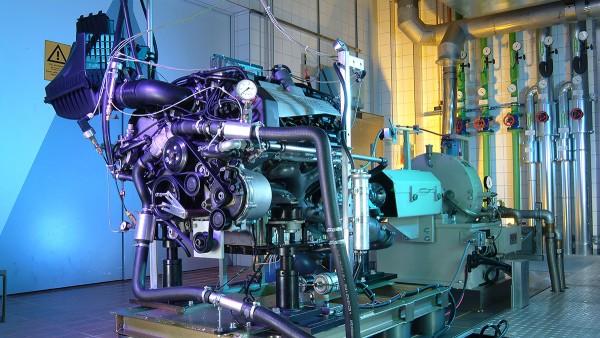 Soluções industriais Schaeffler para motociclos e veículos especiais: Banco de ensaios para motores