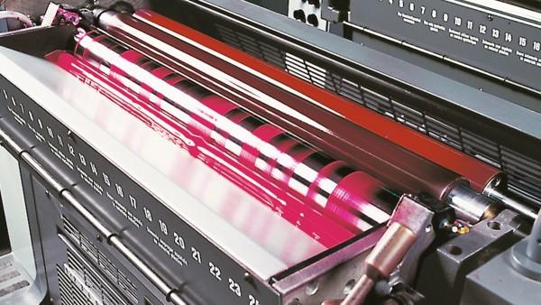 Soluções Schaeffler para máquinas de impressão