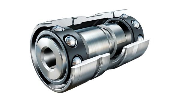 Rolamentos no turbocompressor