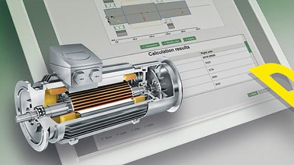 Módulo de software gratuito para o cálculo online de motores elétricos e geradores