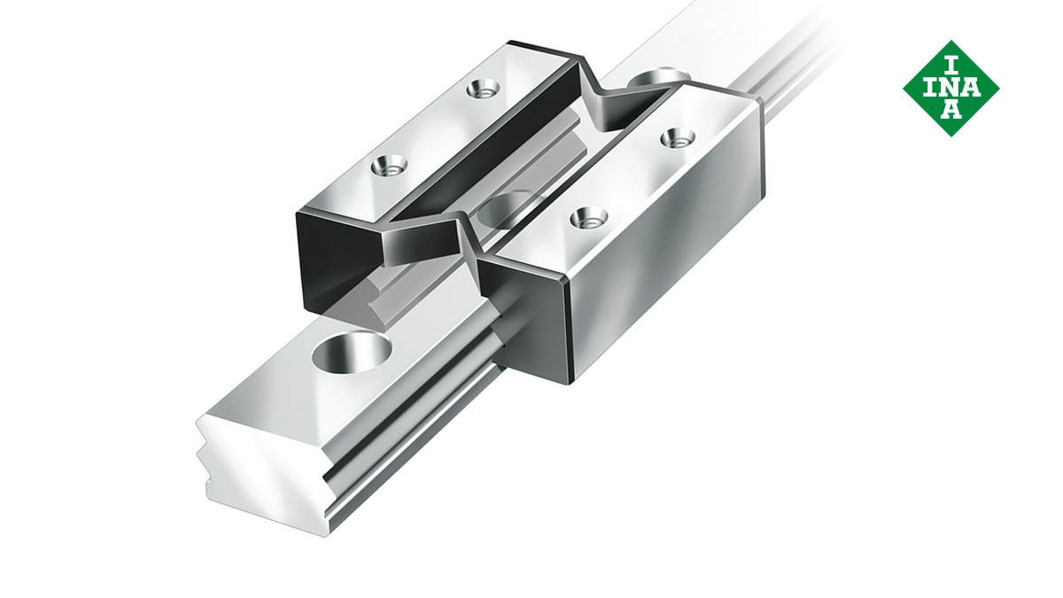 Sistemas de guiado lineal de Schaeffler: Sistemas lineales miniatura de fricción