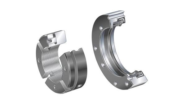 Rodamientos y casquillos de fricción Schaeffler: Anillos porta-obturación / Tuercas estriadas de precisión
