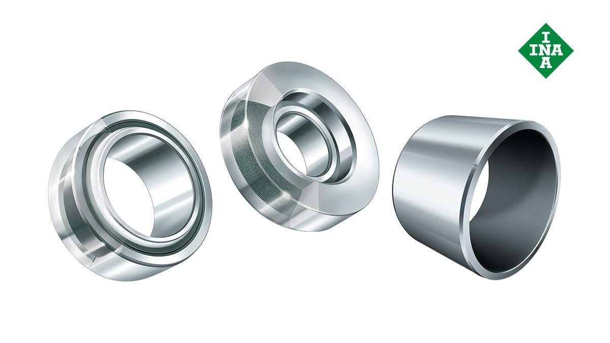 Rodamientos y casquillos de fricción Schaeffler: Casquillos de fricción libres de mantenimiento