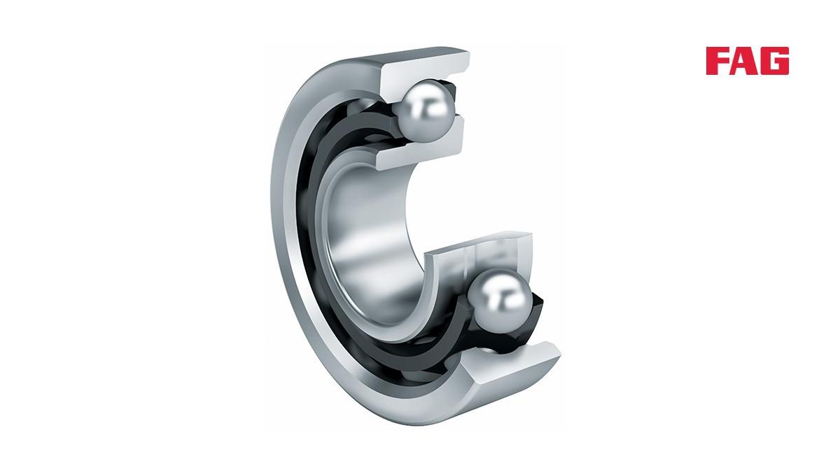 Rodamientos y casquillos de fricción Schaeffler: Rodamientos a bolas de contacto angular