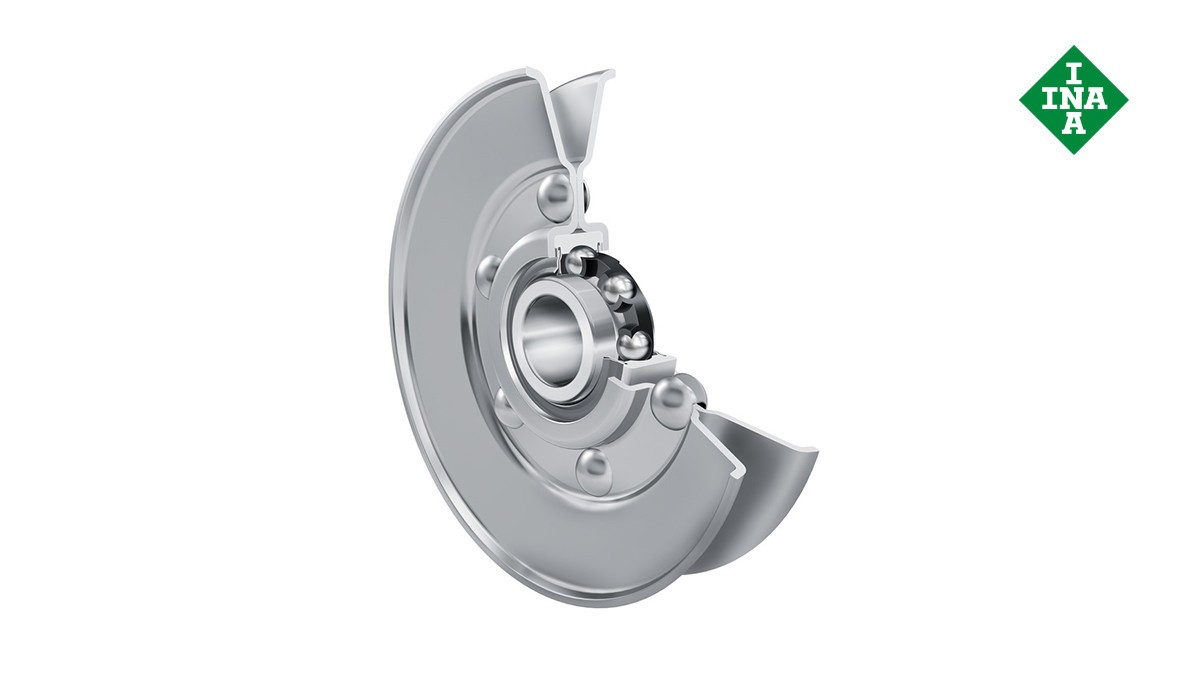 Rodamientos y casquillos de fricción Schaeffler: Poleas tensoras para correas