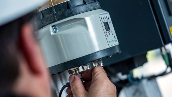 El lubricador Concept8 suministra de forma precisa la cantidad correcta de lubricante hasta a 8 puntos de lubricación.